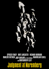 Rent Judgment at Nuremberg on DVD