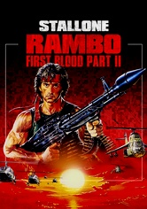 Rent Rambo: First Blood Part II on DVD