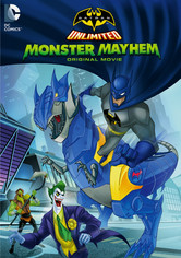 Rent Batman Unlimited: Monster Mayhem on DVD
